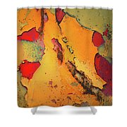 Aging In Colour 6 Shower Curtain