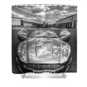 Aston Martin Dbs Shower Curtain