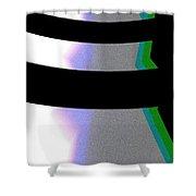 B-wmazezoom8 Shower Curtain