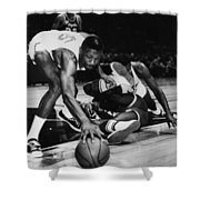 Bill Russell (1934- ) Shower Curtain by Granger