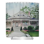 Blowing Rock Office Shower Curtain