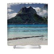 Bora Bora Shower Curtain