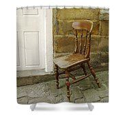 Chair And The Door Shower Curtain