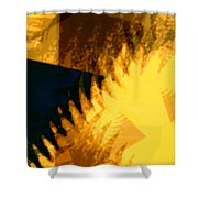 Change - Leaf12 Shower Curtain