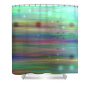 Colour16mlv - Impressions Shower Curtain