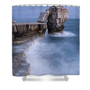 Dorset Seascape Shower Curtain