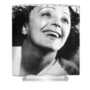 Edith Piaf Shower Curtain