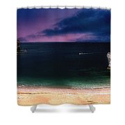 Evening On The Headland  Shower Curtain