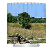 Going To Appomattox Court House Shower Curtain