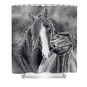 Love Bite Shower Curtain