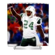 Magical Darrelle Revis Shower Curtain by Paul Van Scott