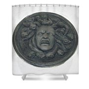 Medusa's Fury Shower Curtain
