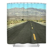 Middle Of Nowhere Shower Curtain