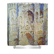 Monet: Rouen Cathedral Shower Curtain