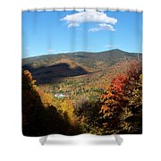 New Hampshire In The Fall 3 Shower Curtain