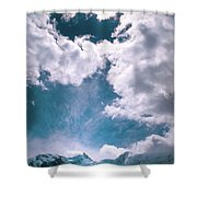 Sacred Belukha Shower Curtain