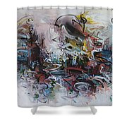Seascape206 Shower Curtain