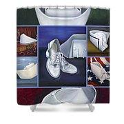 The Art Of Nursing II Shower Curtain