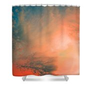 The Explosion Shower Curtain