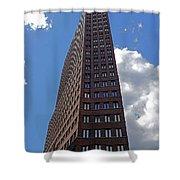 The Kollhoff-tower ...  Shower Curtain by Juergen Weiss