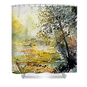 Watercolor  050906 Shower Curtain