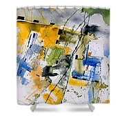 Watercolor  161106 Shower Curtain