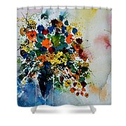 Watercolor  220407 Shower Curtain