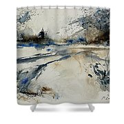 Watercolor 240906 Shower Curtain