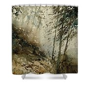 Watercolor  271005 Shower Curtain