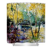 Watercolor  280808 Shower Curtain