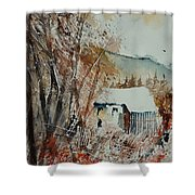 Watercolor 902001 Shower Curtain