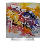 Watercolor 902022 Shower Curtain