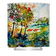 Watercolor 903001 Shower Curtain