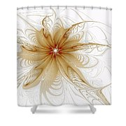Wispy Shower Curtain by Amanda Moore