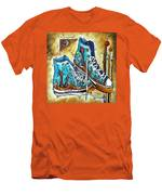 Whimsical Shoes By Madart Men's T-Shirt (Athletic Fit)