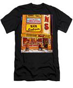 Montreal Paintings Men's T-Shirt (Athletic Fit)