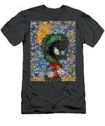 Marvin The Martian Mosaic Men's T-Shirt (Athletic Fit)