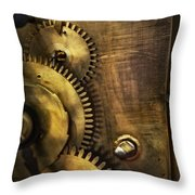 Steampunk - Toothy  Throw Pillow