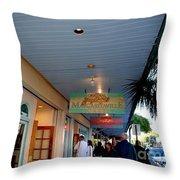 Jimmy Buffet's Margaritaville Key West Throw Pillow