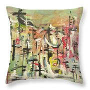 Blow Me Down11 Throw Pillow