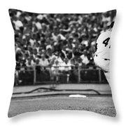 Tom Seaver (1944- ) Throw Pillow