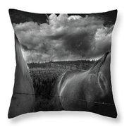 Us Throw Pillow by Jerry Cordeiro