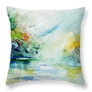 Watercolor 903022 Throw Pillow