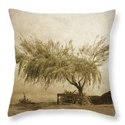 A Sky The Colour Of Memory Throw Pillow