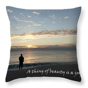 A Thing Of Beauty Throw Pillow
