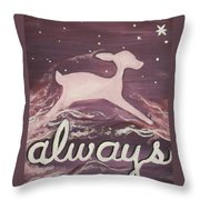 After All This Time Throw Pillow by Lisa Leeman