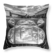 Aston Martin Dbs Throw Pillow