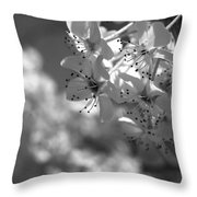 Blossoms Throw Pillow