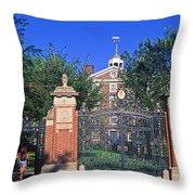 Brown University Throw Pillow by John Greim