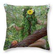 California Girl Throw Pillow by Bob Christopher